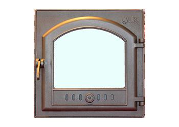 Печная дверца со стеклом