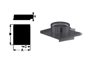 Основание с отводом конденсата Schiedel Permeter
