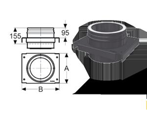 Промежуточный опорный элемент Schiedel Permeter