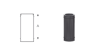 Элемент трубы 500 мм Schiedel Permeter