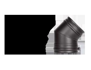 Отвод - 45 Schiedel Permeter